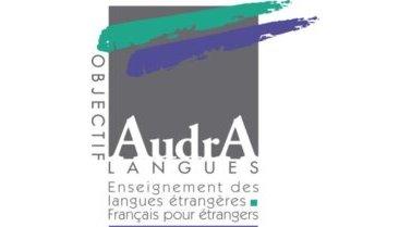 AUDRA LANGUES logo